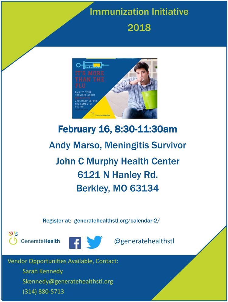 Meningitis: Andy Marso, Meningitis Survivor